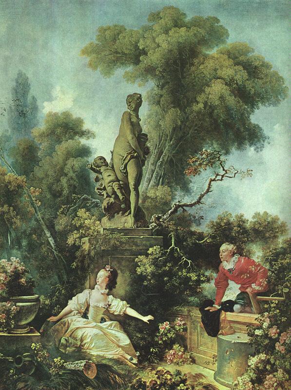 Fragonard - Le fruitier du rendez vous ...